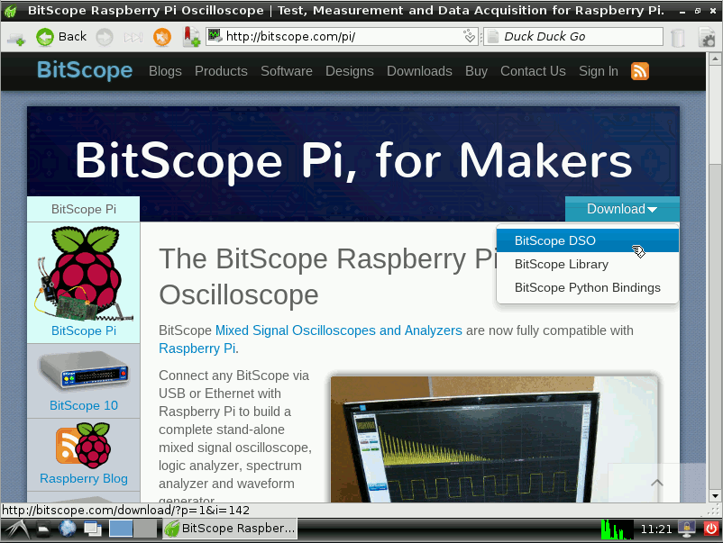How to install BitScope DSO on Raspberry Pi