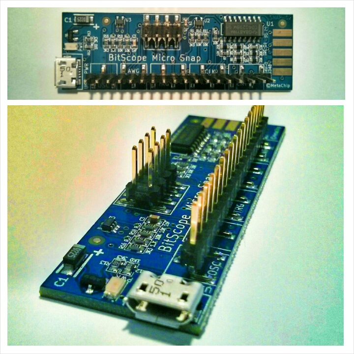 BitScope Micro Snap Mixed Signal Educational Board