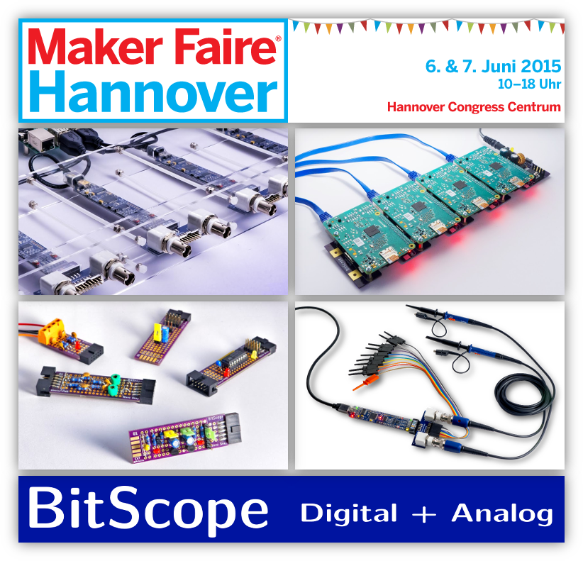 BitScope at Hannover Maker Faire