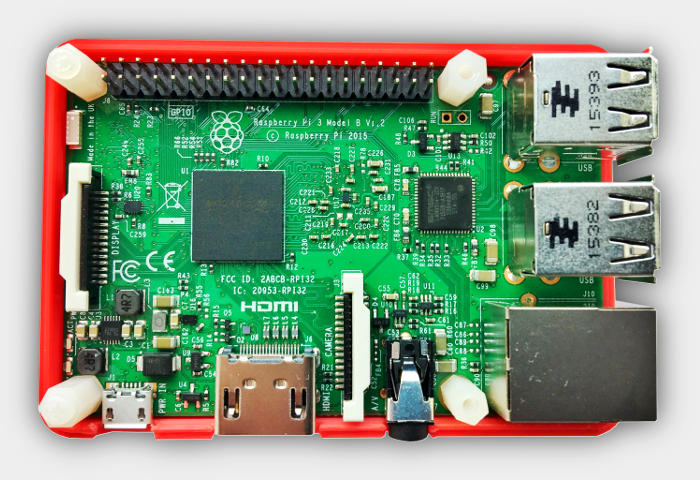 Raspberry Pi 3 Model B, the new standard in industrial computing with BitScope Blade.