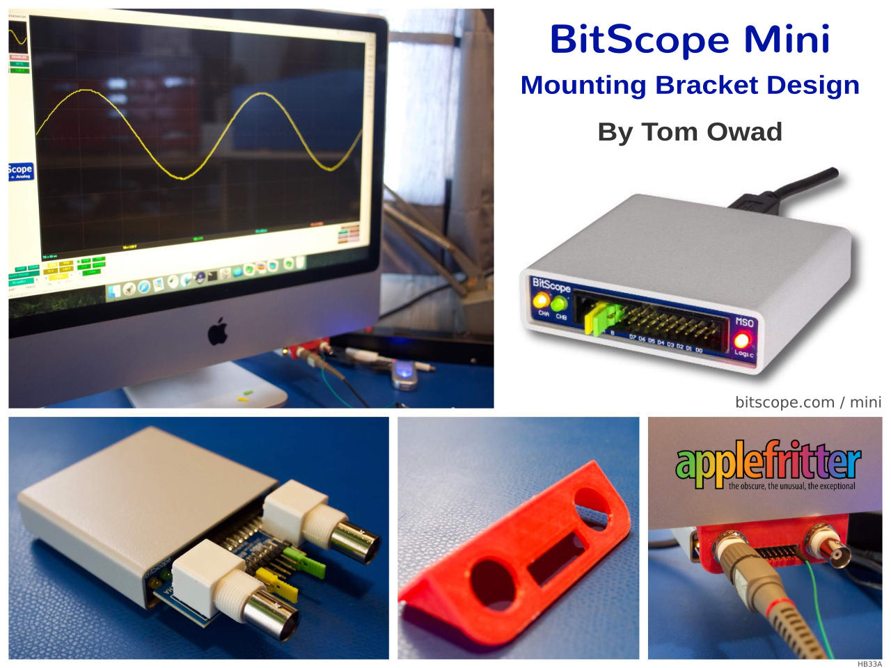 Bitscope News Announcements And Releases Hardware Circuit Of Pcbased Data Logger Is Designed Around Analog Imac Mini Test Measurement Workstation