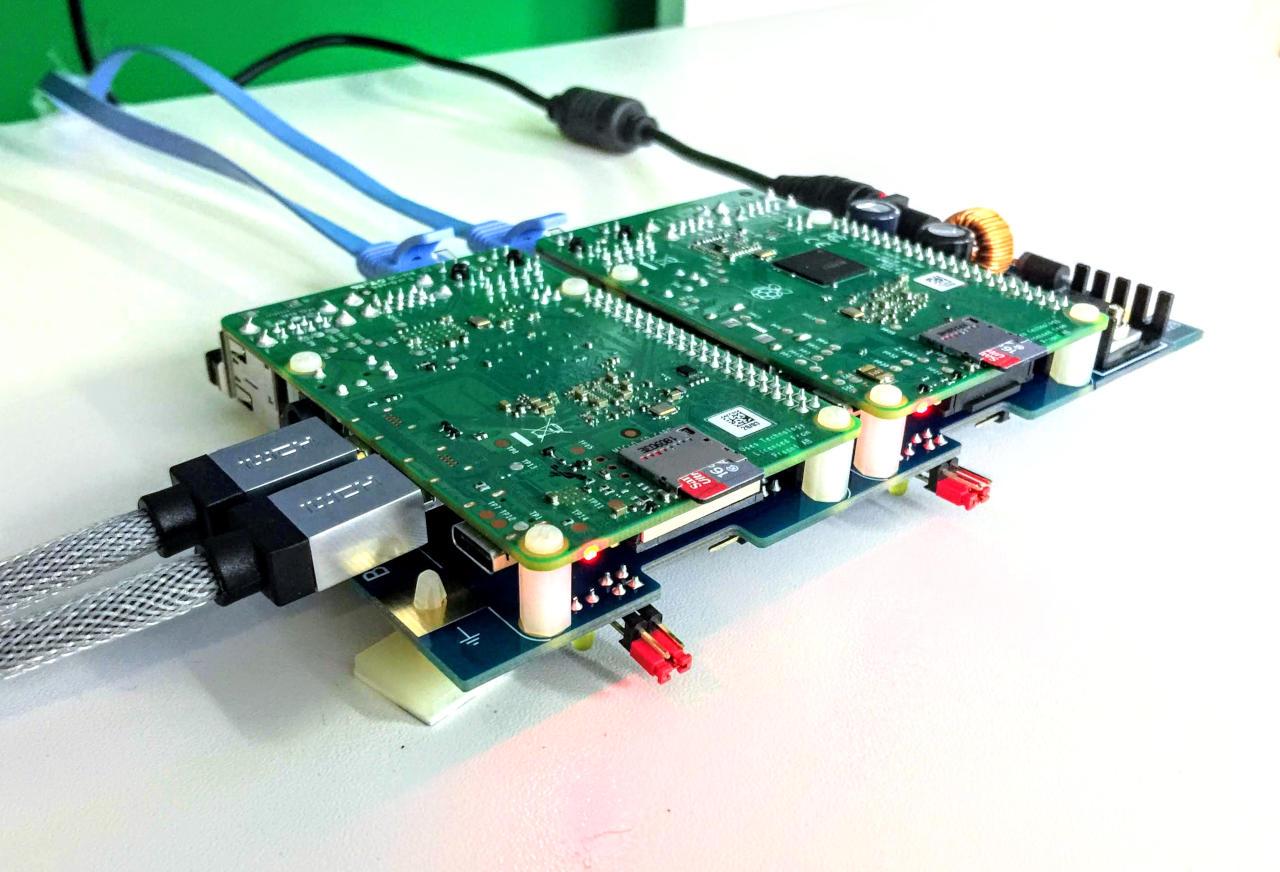 Raspberry Pi 4 Workstation