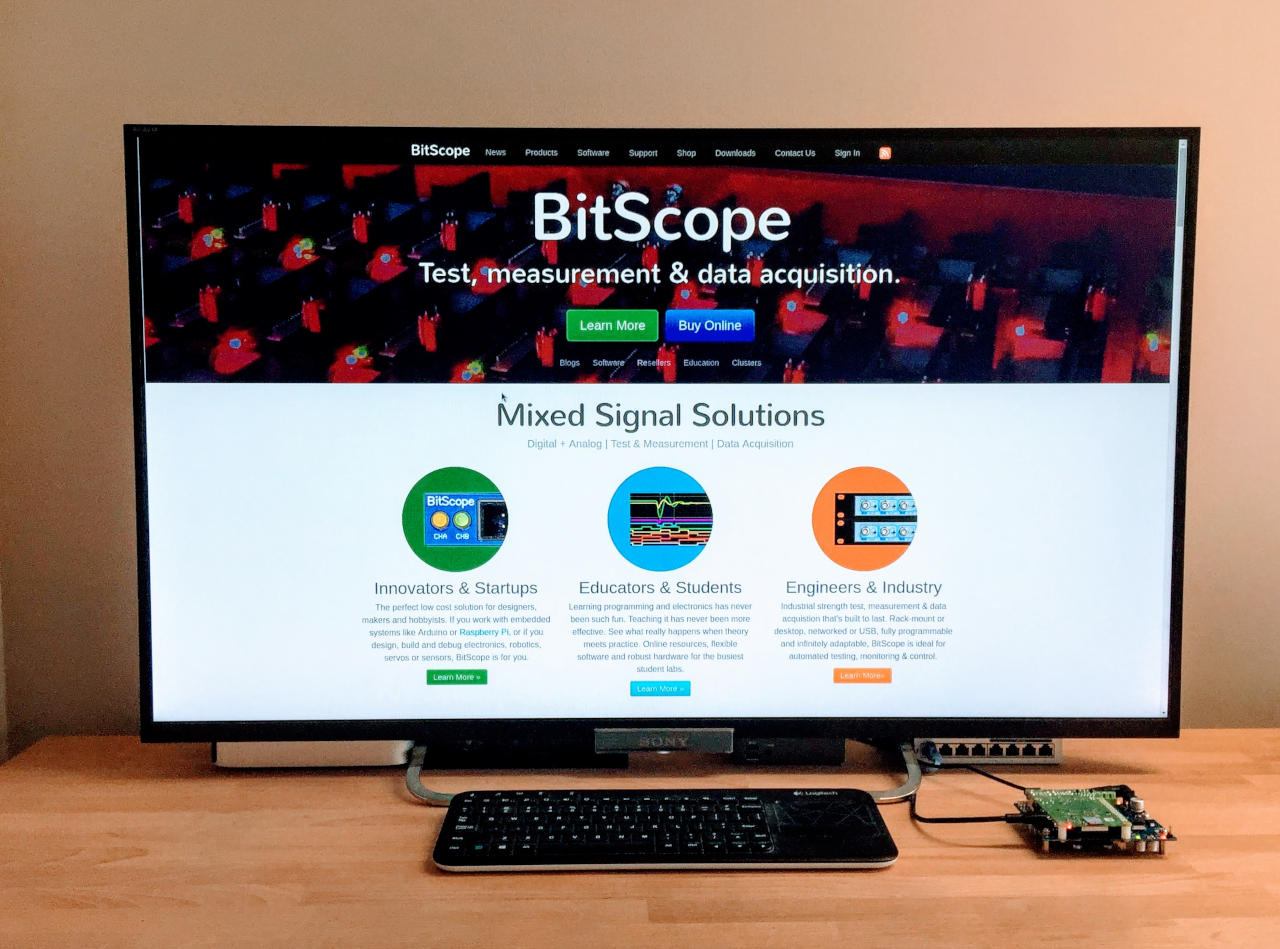 BitScope Raspberry Pi 4 Workstation