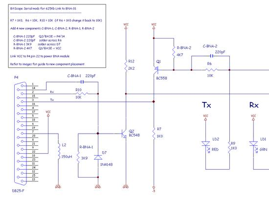 VM-220 Hardware Upgrade Schematic