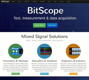 Search BitScope Website.