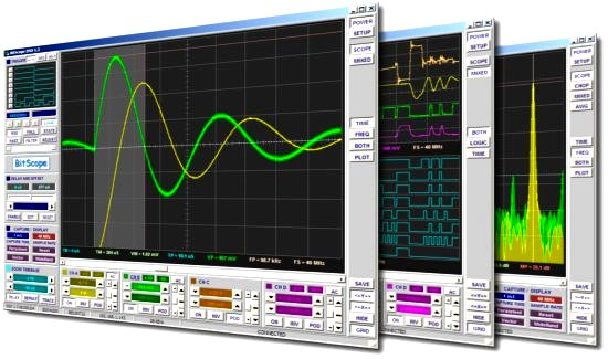 BitScope DSO PC Based Oscilloscope Software
