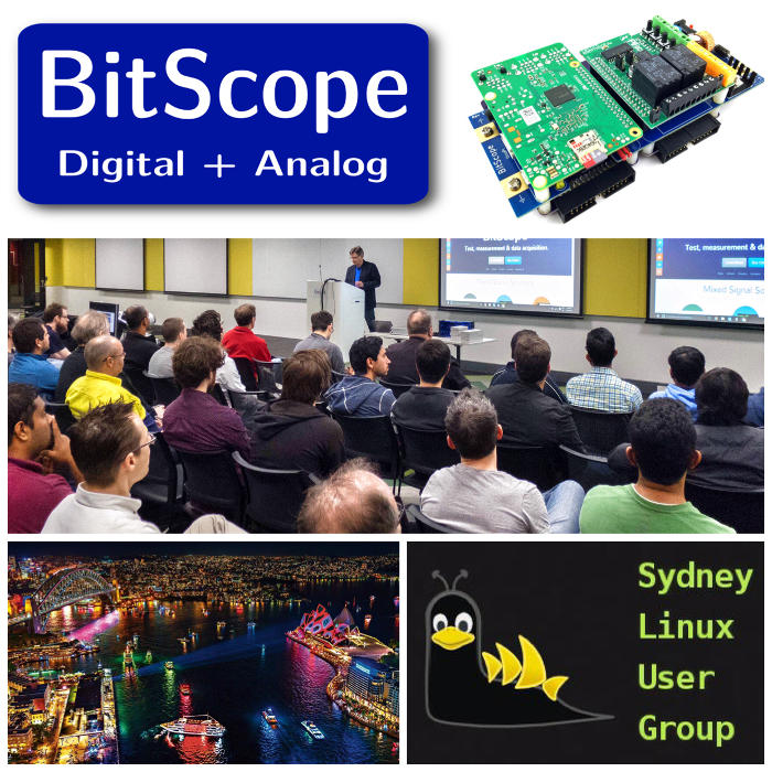 Cluster Computing with BitScope Blade and Raspberry Pi Talk at SLUG Sydney.