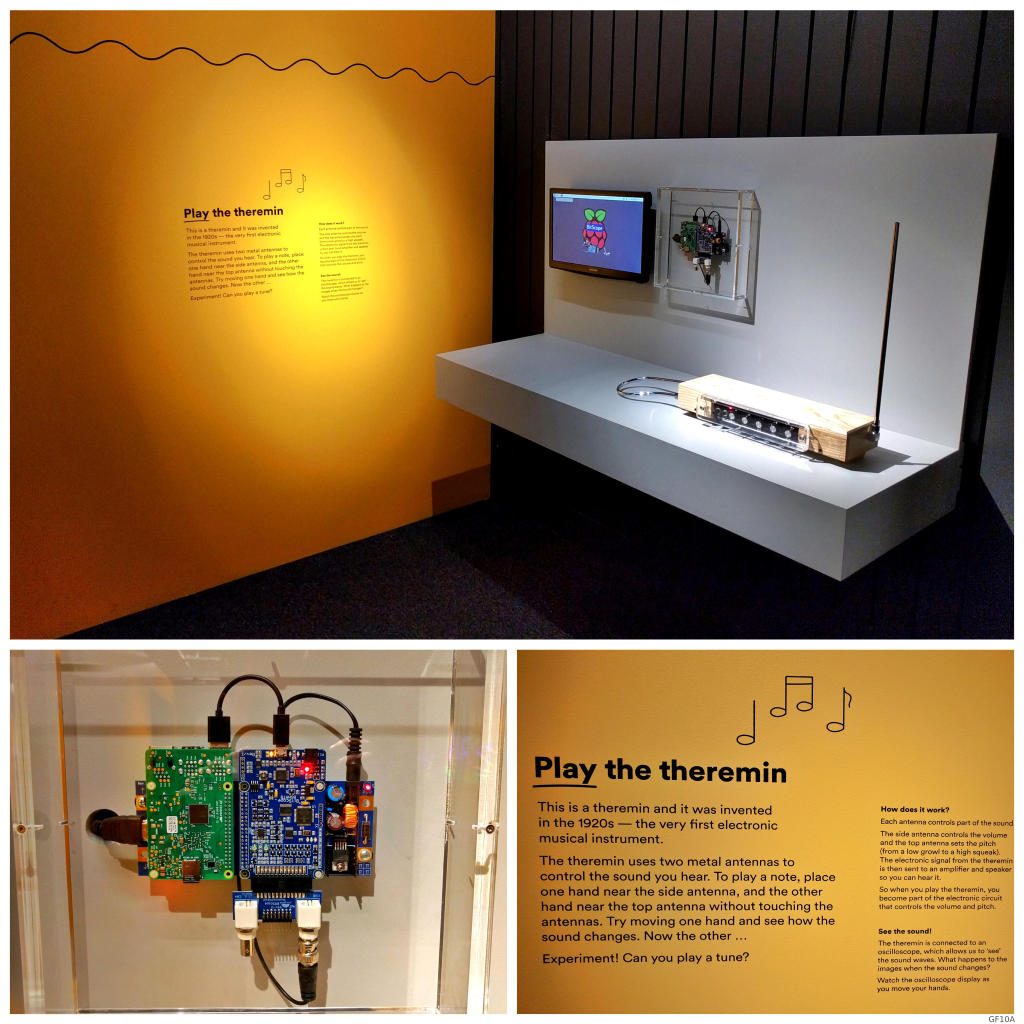 Bitscope Ed A Blog For Students And Teachers Of Electronics Electronic Circuit You Blade Theremin Exhibit At Maas Museum