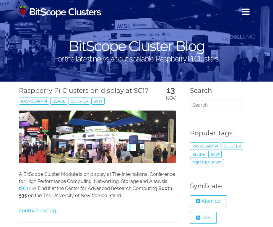 BitScope Clusters Blog