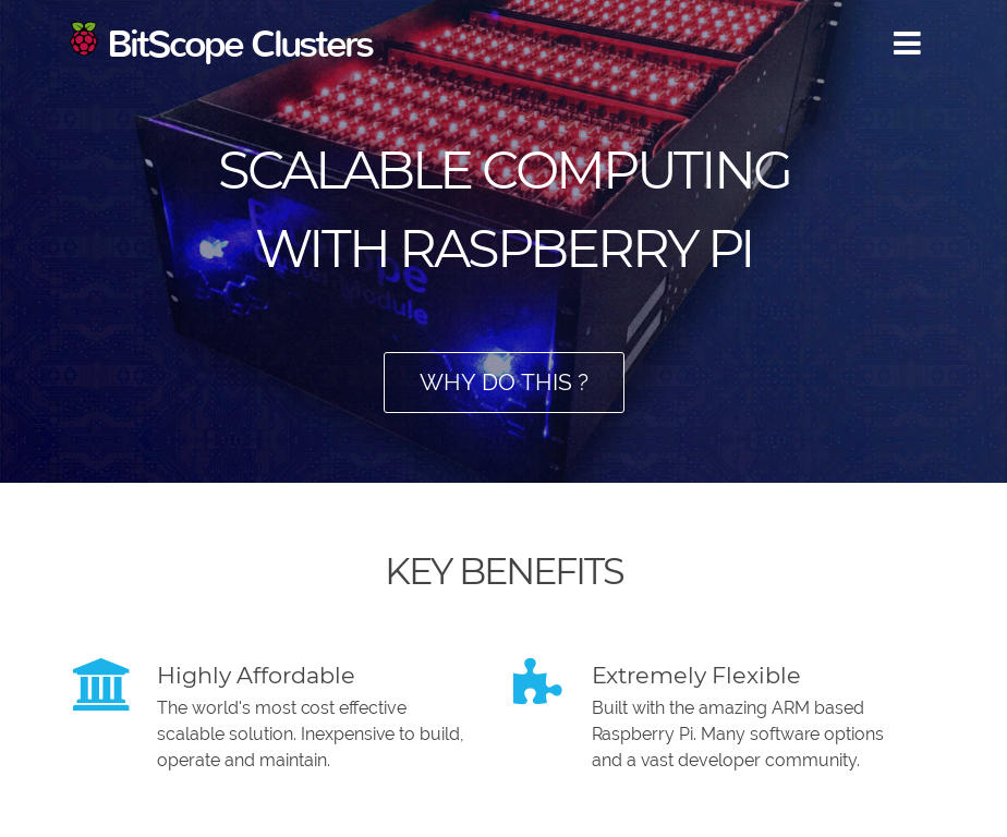 BitScope Clusters Website