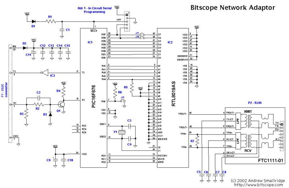lia Network Schematic Diagram on