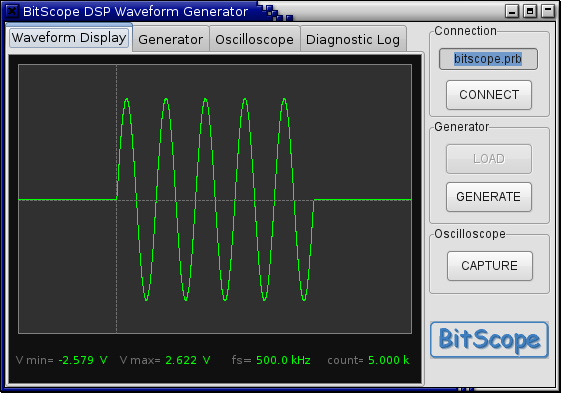 Software for BitScope PC Oscilloscopes, Logic Analyzers and