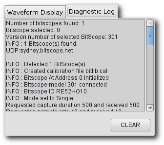 BitScope Diagnosics