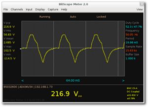 BitScope Meter | Signal Analysis Software